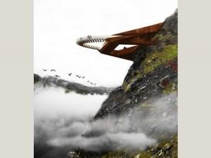 WAF 2011 - futurystczny projekt tarasu widokowego