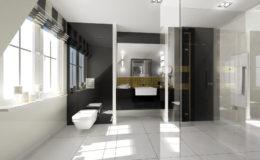 Wizualizacja łazienki III