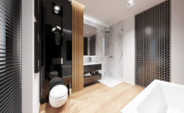 Łazienka poprawiona – wizualizacja I
