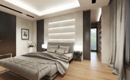 Sypialnia – wizualizacja I (poprawiona II)