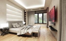 Sypialnia – wizualizacja II (poprawiona)